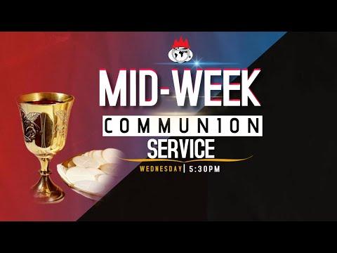 DOMI STREAM:MID-WEEK COMMUNION SERVICE  8TH JULY , 2020