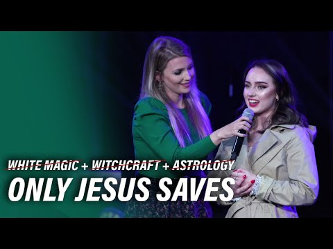 White Magic, Witchcraft and Astrology can't save, Only Jesus