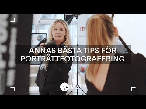 Annas bästa tips för porträttfotografering