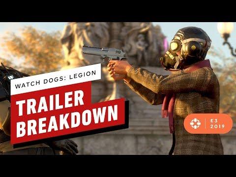 Watch Dogs Legion E3 Reveal Trailer Breakdown - IGN Rewind Theater