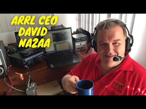 A chat with David Minster NA2AA - ARRL Chief Executive Officer