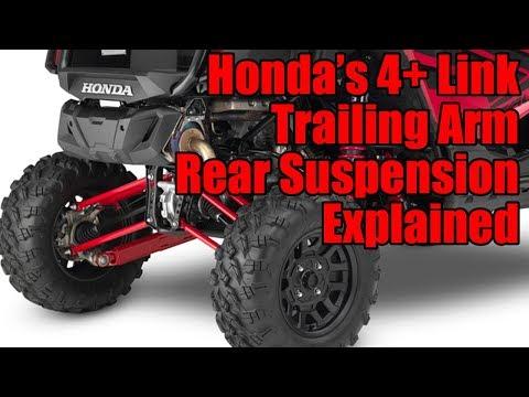 Honda Talon 1000R 4+ Link Trailing Arm Rear Suspension Explained
