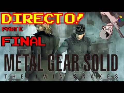METAL GEAR SOLID: THE TWIN SNAKES || LO TERMINAMOS?!