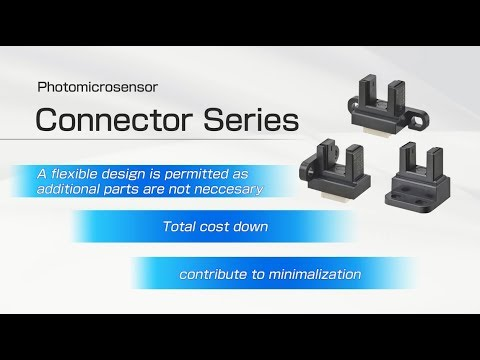 Photomicrosensors Small screw mountig connector series [English Ver]