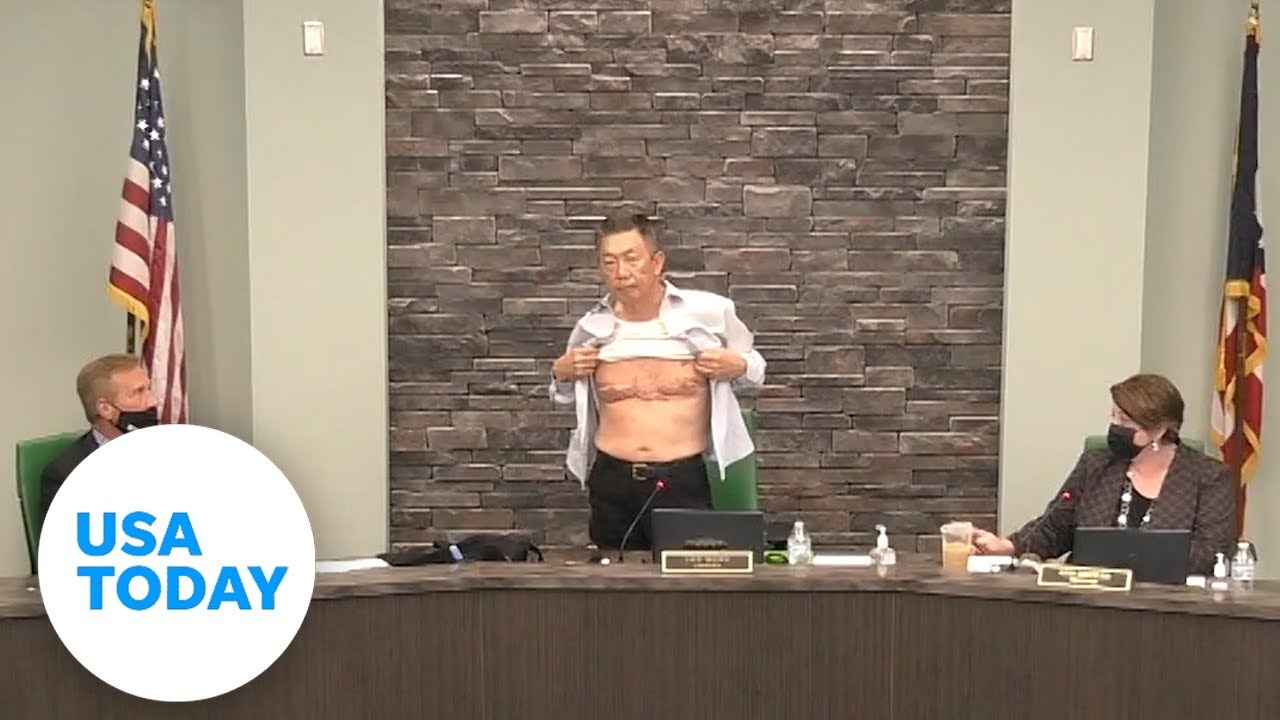 Asian American vet bares scars, addresses hate   USA TODAY