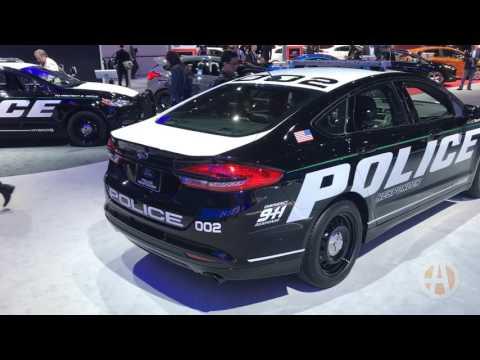 2018 Ford Police Responder Hybrid: New York Auto Show - Video