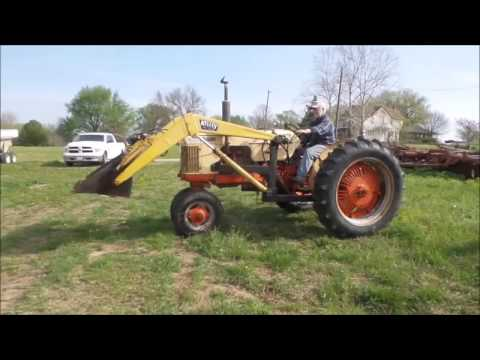 Case 500 tractor for sale | no-reserve Internet auction May 3, 2017