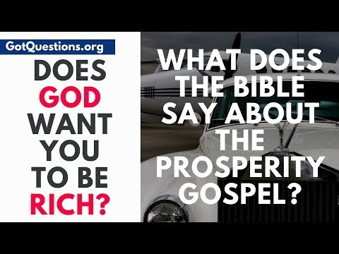 What does the Bible say about the Prosperity Gospel / Word of Faith Movement  GotQuestions.org