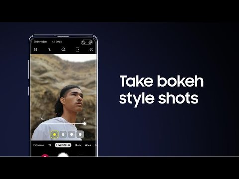 Galaxy S10: How to add bokeh focus effects with Live Focus