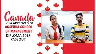 Diploma 2018 Passout Got Canada Student Visa