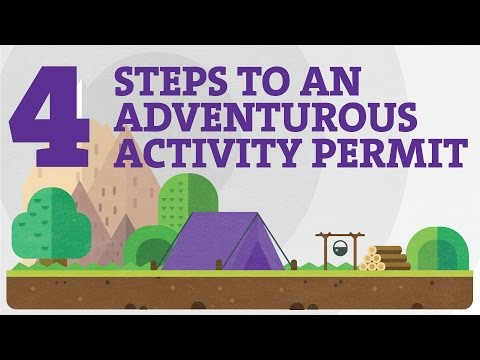 Youth in Adventure – 4 Steps to an Adventurous Activity Permit