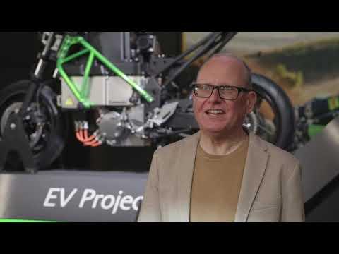 Kawasaki EV Project Electric Motorcycle