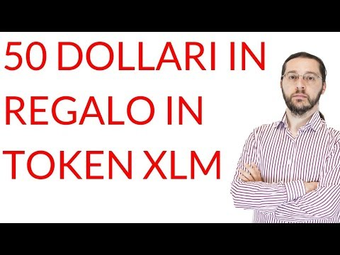 50 $ in regalo su Blockchain.com (in token Stellar XLM): è tutto vero