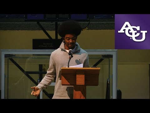 ACU Chapel - Martin Luther King Day Celebration 2017