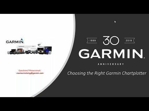 Garmin Marine Webinars: Choosing the Right Garmin Chartplotter
