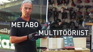 Metabo multitööriist MT 18 LTX