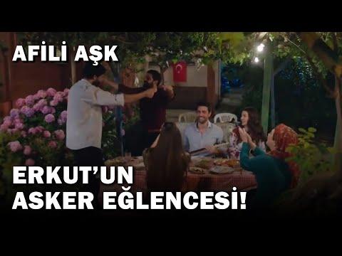 Ayşe ve Kerem, Erkut'un Asker Eğlencesinde! - Afili Aşk 7. Bölüm