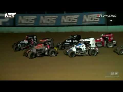 HIGHLIGHTS: USAC NOS Energy Drink National Midgets   8-4-2021   Action Track USA   Kutztown, PA - dirt track racing video image