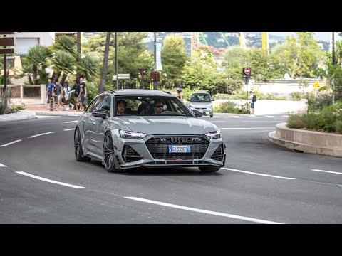 Supercars in Monaco 2020 - VOL. 17 (Monza SP2, Chiron, Capristo Aventador SuperVeloce, 2020 ABT RS6)