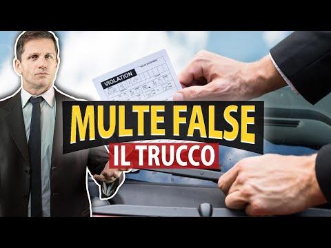 MULTA FALSA SUL PARABREZZA: il trucco per non farsi multare | Angelo Greco