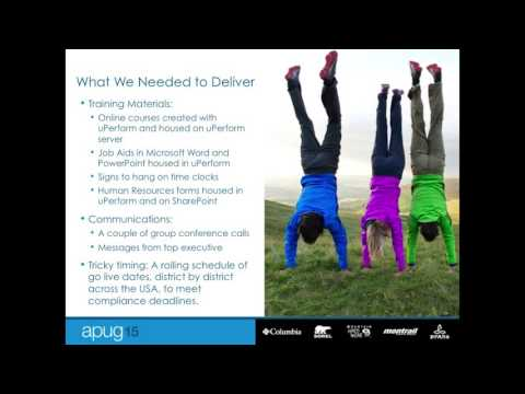 Columbia Sportswear Co. uses ANCILE uPerform + uAlign for SUCCESS