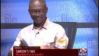 Newsfile Intro on Joy News(18-5-19)