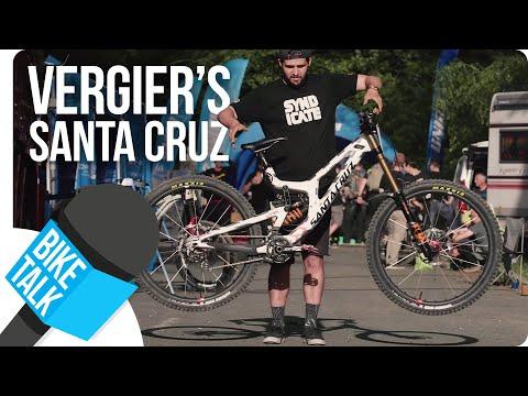 Bike Talk: Santa Cruz V10 of Loris Vergier | SHIMANO