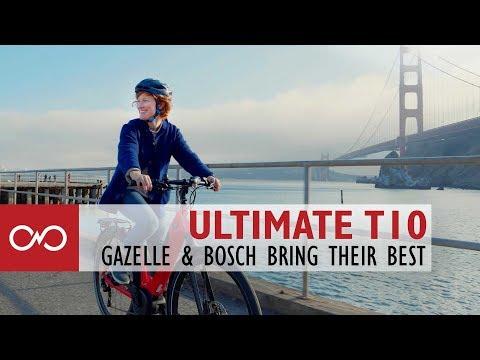 Review: Gazelle T10 Ultimate Electric Bike