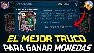 EL MEJOR TRUCO PARA GANAR MONEDAS EN FIFA MOBILE 19!!! TRADEO FACIL Y RAPIDO   Mrojos56