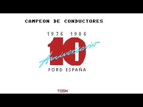 Campeón de conductores (Toshiba España, 1986)