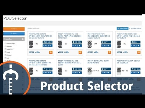 Server Technology Product Selector