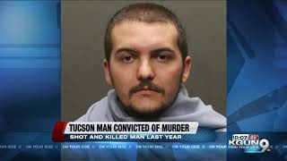 Tucson man convicted of murder, burglary in fatal shooting