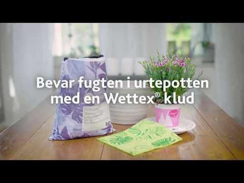 Bevar fugten i urtepotten med en Wettexklud