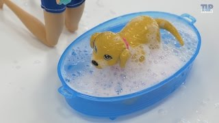 Barbie et son chien heure du bain - D�mo en fran�ais