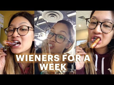I Ate Wieners For A Week