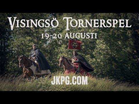 Visingsö Tornerspel 19-20 augusti 2017
