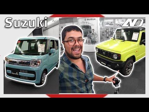 Suzuki Jimny y Hayabusa, conociendo a esta rara japonesa desde Hamamatsu  ??