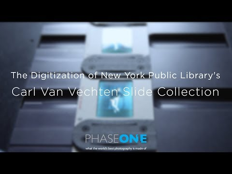 The Digitization of New York Public Library's Carl Van Vechten Slide Collection | Phase One