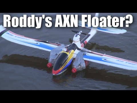 "Roddy's *real* AXN ""floater"" Jet RC plane - will it fly? - default"