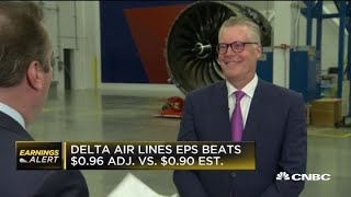 Delta Air Lines CEO Ed Bastian talks first quarter earnings, Boeing 737 Max grounding