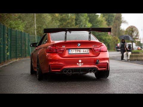 720HP Pure Turbos BMW M4 F82 w/ Decat M Performance Exhaust - Crazy Accelerations, Burnouts & Revs !