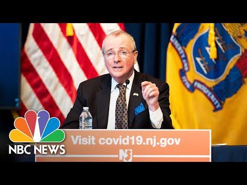 Live: New Jersey Governor Murphy Holds Coronavirus Briefing | NBC News