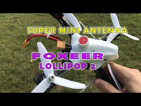 Foxeer Lollipop 2 Super Mini Antenna For Drone | Мини антенна для квадрокоптера - UC2cm-yk7xGn-AfbyfZ94Vag