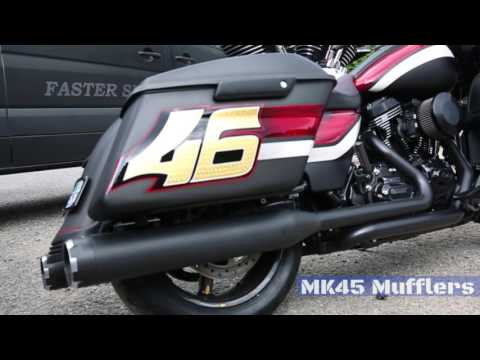"""An Interview with Carey Hart - S&S 124""""  Powered Road Glide"""