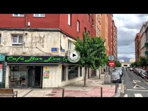 La calle Castilla a vista de autobús