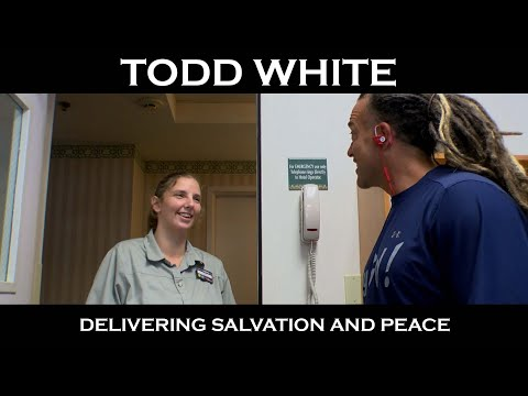 Todd White - Delivering Salvation & Peace -  (Jesus Loves Housekeepers)