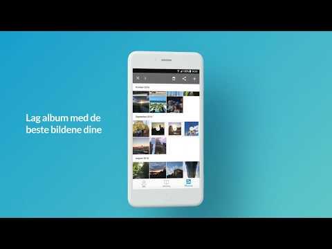 Telenor Min Sky Album - privat deling av bilder