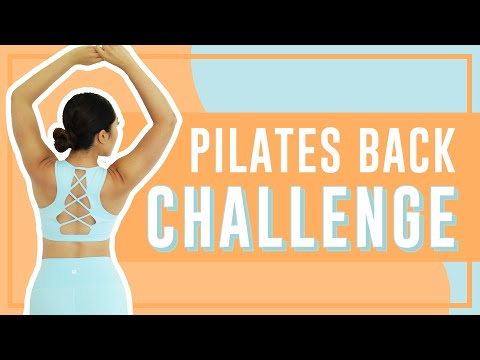 3-Minute Killer Back Toning Workout | POP Pilates Song Challenge!
