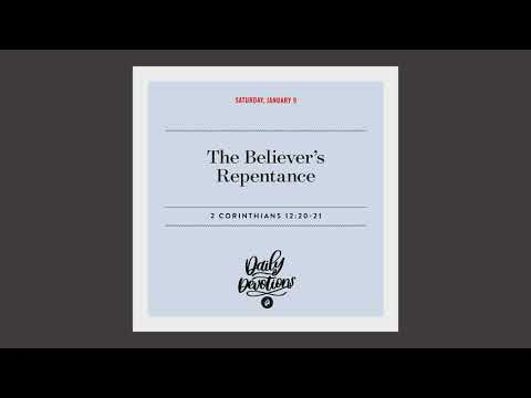 The Believers Repentance  Daily Devotional