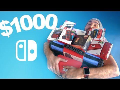 $1000 Nintendo Switch Accessories Haul - UCPUfqC93SzLDOK2FC_c7bEQ